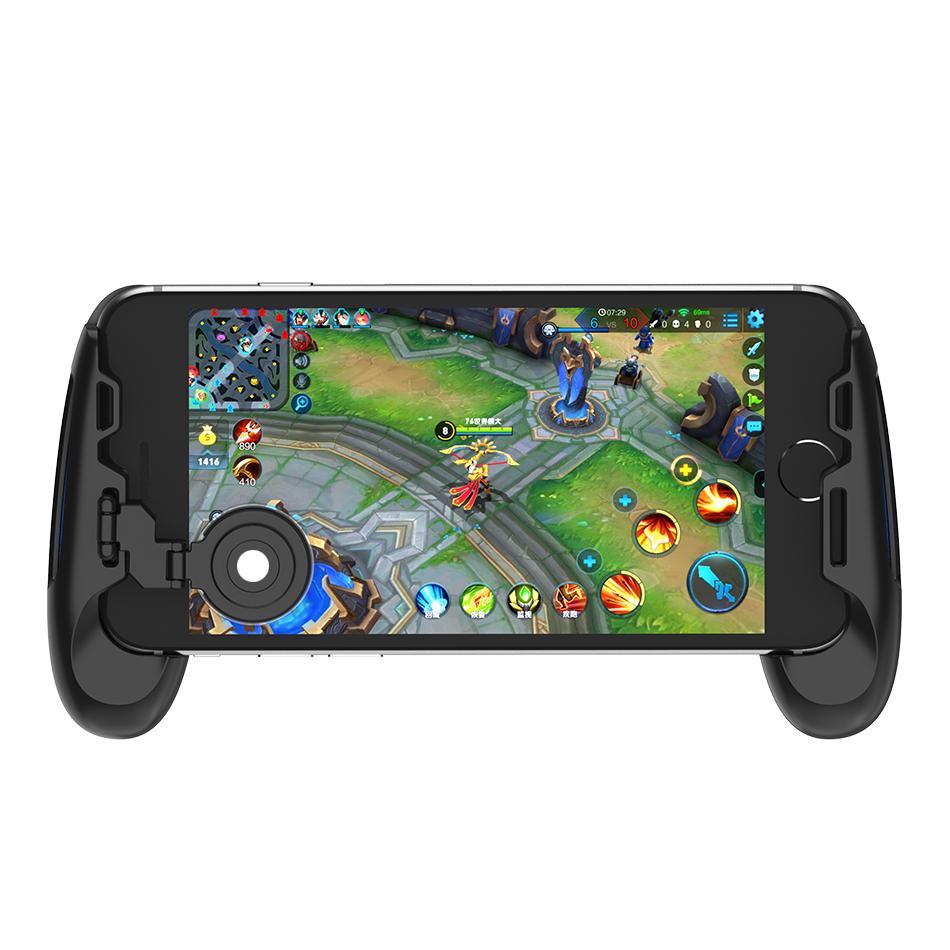 Gamesir F1 Joystick Grip Chơi game cho điện thoại màu xanh