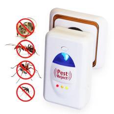 Cách trị mối trong nhà, Thế giới côn trùng, Cty diet moi, May duoi doi – Thiết bị đuổi côn trùng PESTREJET Cao Cấp( Hàng loại 1) Công nghệ sóng siêu âm, đuổi những con vật đang ghét ra khỏi nhà Bạn – Mã BH 188