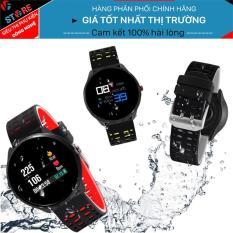 Vòng đeo tay thông minh Tuxedo wear TX7 , Kiểm soát vạn động, Đo nhịp tim, huyết áp, Chống nước IP68