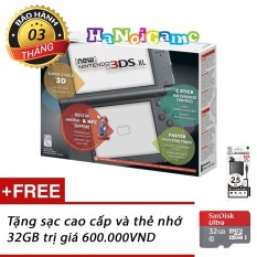 Máy Nintendo New 3DS XL (Màu Đen)