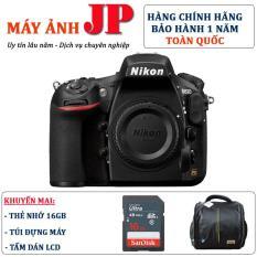 Nikon D810 body (Hàng chính hãng) – Tặng thẻ 16G + túi máy + tấm dán LCD