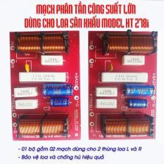 Combo 02 mạch phân tần công suất lớn dùng cho Loa Sân Khấu. Phân định tần, Bảo vệ loa và chống hú hiệu quả.