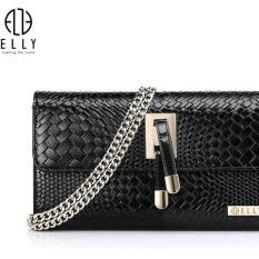 Túi clutch nữ cao cấp da thật ELLY- EC3