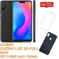 Xiaomi Redmi 6 Pro 32GB Ram 3GB (Đen) ShopOnline24 + Cường lực 5D Full màn + Ốp lưng – Hàng nhập khẩu