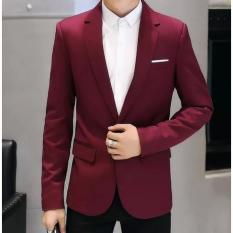 Áo vest nam kaki thời trang ( đỏ đô )