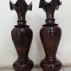 bình lọ gỗ chiu lưu cao 48×15