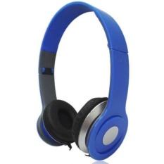 Tai nghe chụp tai stereo headset 02(Xanh dương)