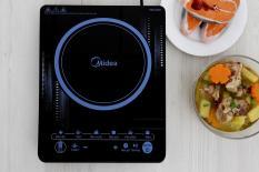 Bếp điện từ Midea MI-T2117DC – Tặng kèm nồi inox 24cm