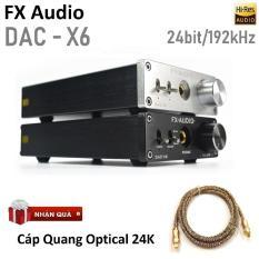 DAC NGHE NHẠC LOSSLESS FX-AUDIO X6 2018