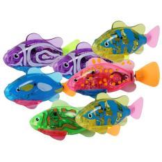 Đồ chơi cá tự bơi Robo Fish có đèn led