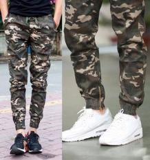 quần kaki lính HL277 nam nữ mặc ( rằn ri )
