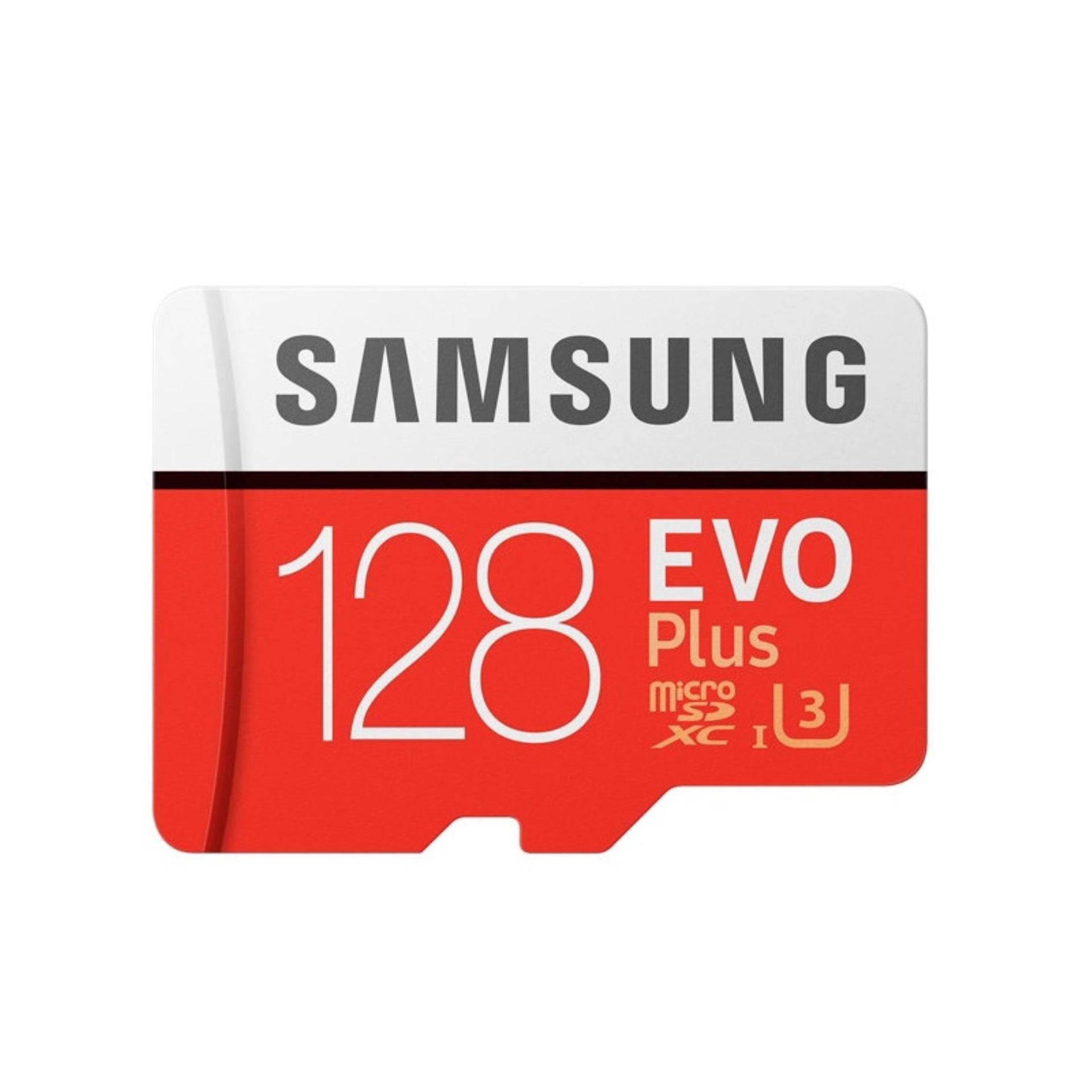 Thẻ nhớ MicroSDXC Samsung Evo Plus 128GB UHS-I U3 4K 100MB/s (Đỏ)