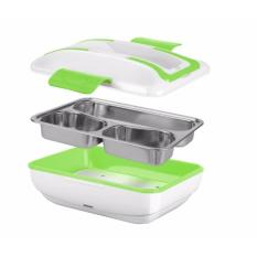 Hộp cơm cắm điện giữ nhiệt inox YY-3266 ( xanh lá )