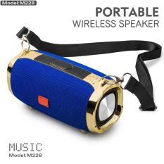 Loa Bluetooth M228 siêu trầm stereo [SẢN PHẨM BÁN CHẠY]