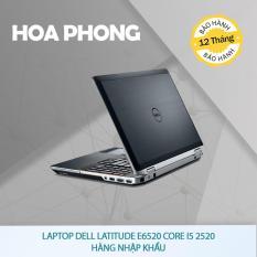 Laptop Dell Latitude E6520 Core i5 2520 – Hàng nhập khẩu
