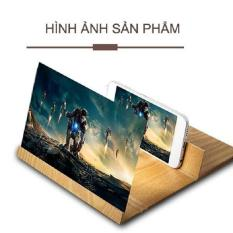 Kính phóng đại màn hình 3D Kính phóng đại màn hình 3D kiêm giá đỡ Screen amplifier Gỗ Cao cấp