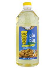 Dầu dừa nguyên chất tinh luyện Vietcoco chai 1L