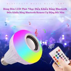 Bóng Đèn LED Thông Minh phát nhạc điều khiển bằng bluetooth