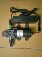 Bơm mini 12v phun sương tặng kèm adapter 220-12v 60w 4lit/phut có sẵn đầu nối ống phun sương