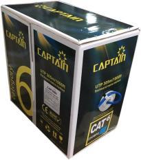 Cuộn dây cáp mạng Captain Cat6 UTP CCA BR 305m xanh