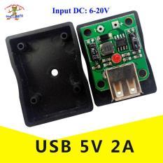Mạch SẠC năng lương mặt trời USB 2A