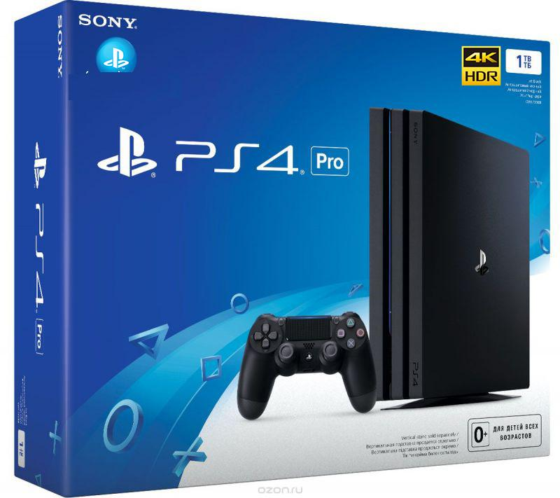Máy Chơi Game Sony PlayStation 4 PS4 Pro 1TB CUH 7106B