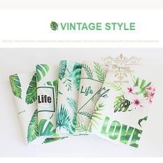 Bộ 4 khăn lót chén dĩa trẻ trung phong cách vintage