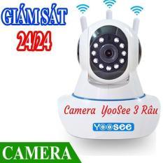 Camera IP Wifi Yoosee 3 Râu HD Không Dây Phiên Bản 2018