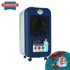 Máy làm mát không khí – Quạt điều hòa SUNHOUSE SHD7725CB xanh