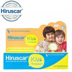 Gel chăm sóc sẹo cho trẻ Hiruscar Kids 10g