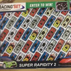 Set đồ chơi 50 xe ô tô mô hình cho bé