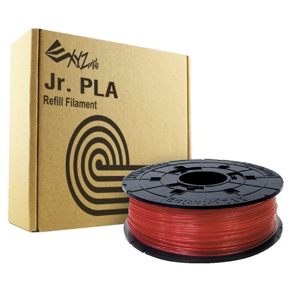 Vật liệu in 3D - (D) XYZ PLA JR/MINI (NFC) Clear Red