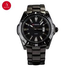 Đồng hồ nam CURREN 8110 cao cấp 43mm (Đen) + Tặng hộp đựng đồng hồ thời trang & Pin
