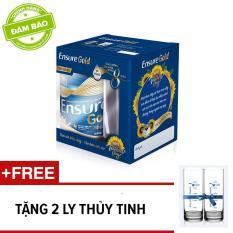 Lon sữa bột Ensure Gold 400g + Tặng 2 ly thủy tinh