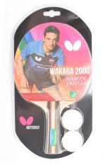Vợt bóng bàn Butterfly Wakaba 2000 kèm 2 quả bóng