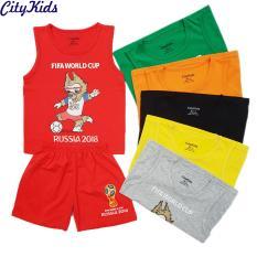 SET 5 Bộ Quần áo trẻ em World Cup 2018 CTKS04