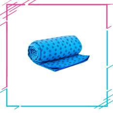 Khăn trải thảm yoga Ribobi có kèm túi đựng – Xanh dương
