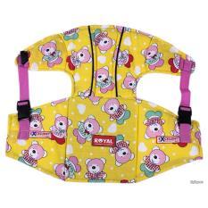 Đai đỡ cổ, yên xe em bé, đai xe máy trẻ em (loại cóđỡcổ) cap cấp bảo hành uy tín bởi Click Buy