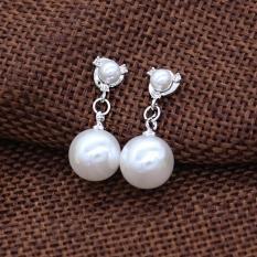 Khuyên Tai Nữ Khuyên Tai Trắng Bạc Sành Điệu Cho Phái Nữ XB18 Bảo Ngọc Jewelry