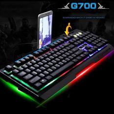Mua Bàn Phím Razer đắt hơn bàn phímG700-1798, phím cơ newmen same G700 – Bàn Phím Chơi Game Đẹp, Chất, Giá Tốt ( Nhạy gấp 5 lần bàn phím thường)