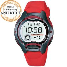 Đồng hồ nữ dây nhựa Casio Anh Khuê LW-200-4AVDF