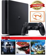 Combo Sony PS4 Slim + 3 Games + PSN Plus 3 Tháng