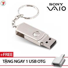 USB Sony 32gb có kèm móc khoá hộp INOX