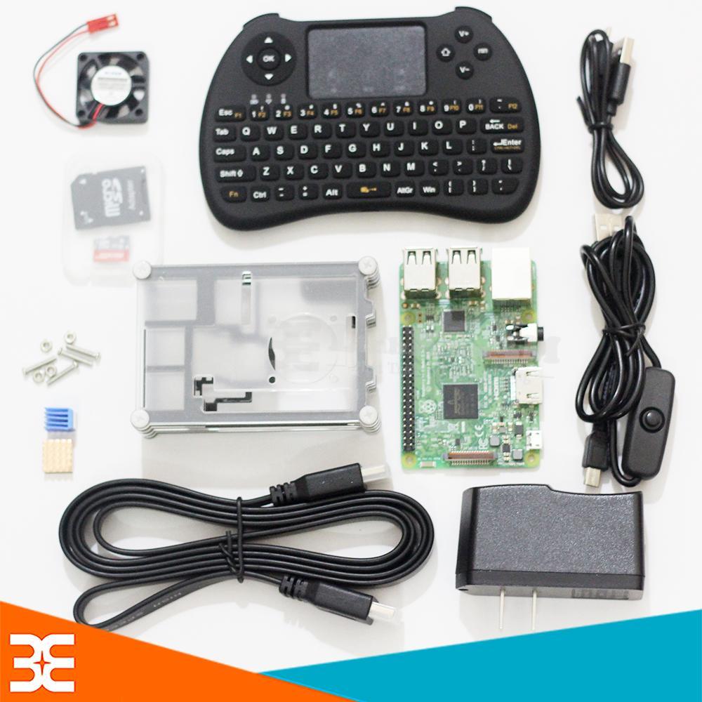 Bảng Giá Combo Raspberry Pi 3 Model B UK/RS – Gói 2 Tại Linh Kiện Điện Tử 3M