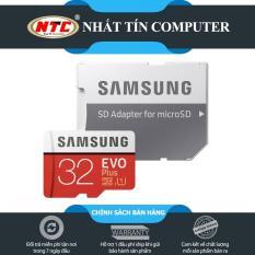 Thẻ nhớ MicroSDHC Samsung EVO Plus 32GB 95MB/s Adapter – box Anh (Màu đỏ)