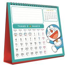 Lịch Bàn – Doraemon 2019