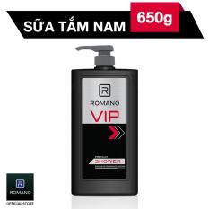 Sữa tắm Romano VIP 650g