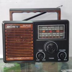 Đài radio SW-548 đọc USB, thẻ nhớ, đèn LED