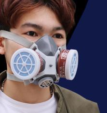 Khẩu trang phòng độc, lọc khí độc cao cấp (Xám)