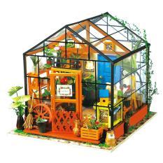 Mô hình biệt thự nhà vườn tý hon tự lắp ráp DIY